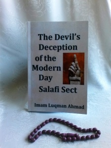 salafi book cover white with beads
