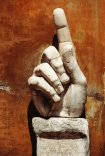 HAND SCULPTURE OF MUSEO DE CONSERVATORS IN ROME
